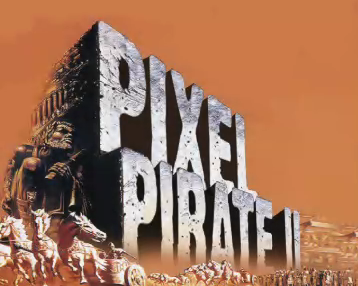 Pixel Pirate II: Attack of the Astro Elvis Video Clone <BR /> Title Page